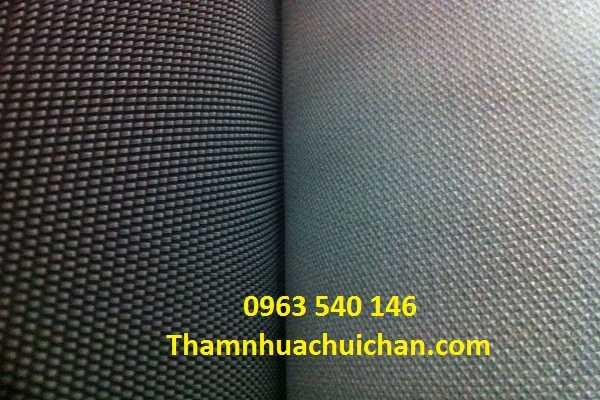 Thảm mít màu ghi kích thước : 1,2m x 15m, ngoài ra thảm gai mít có thêm màu đỏ, xanh.