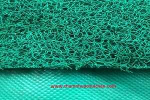 Thảm nhựa rối xanh lá