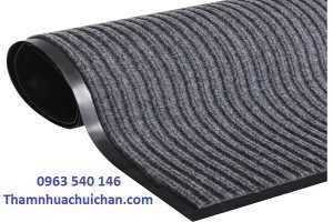 Phương pháp vệ sinh tấm thảm chùi chân để cho sạch sẽ.