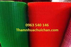 Thảm nhựa gai cúc rẻ nhất tại Hà Nội