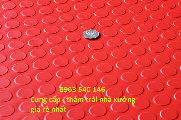 Cung cấp thảm trải xưởng giá rẻ nhất Hà Nội