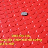Thảm nút tròn trải xưởng giá rẻ nhất Hà Nội