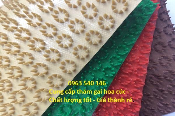 Cung cấp thảm nhựa gai cúc chất lượng tốt - giá rẻ nhất.