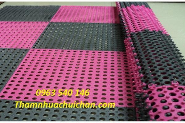 Cách phối ghép màu tạo nên sự sang trọng cho không gian đặt thảm.