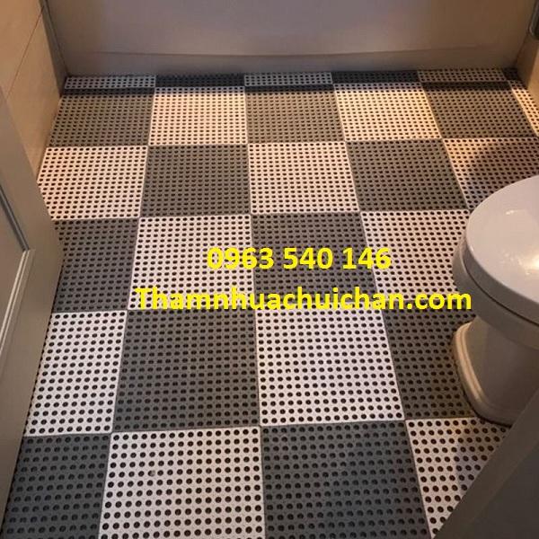 Sự lựa chọn hoàn hảo, tăng thêm không gian nhà vệ sinh sinh động.