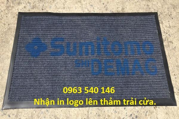 Cung cấp thảm và nhận in logo lên bề mặt thảm tạo phong cách và ấn tượng cho quý khách.
