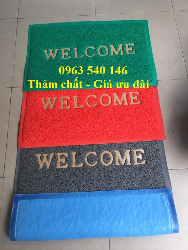 Thảm welcom nhựa rối có nhiều màu sắc khác nhau quý khách có nhiều sự lựa chọn.