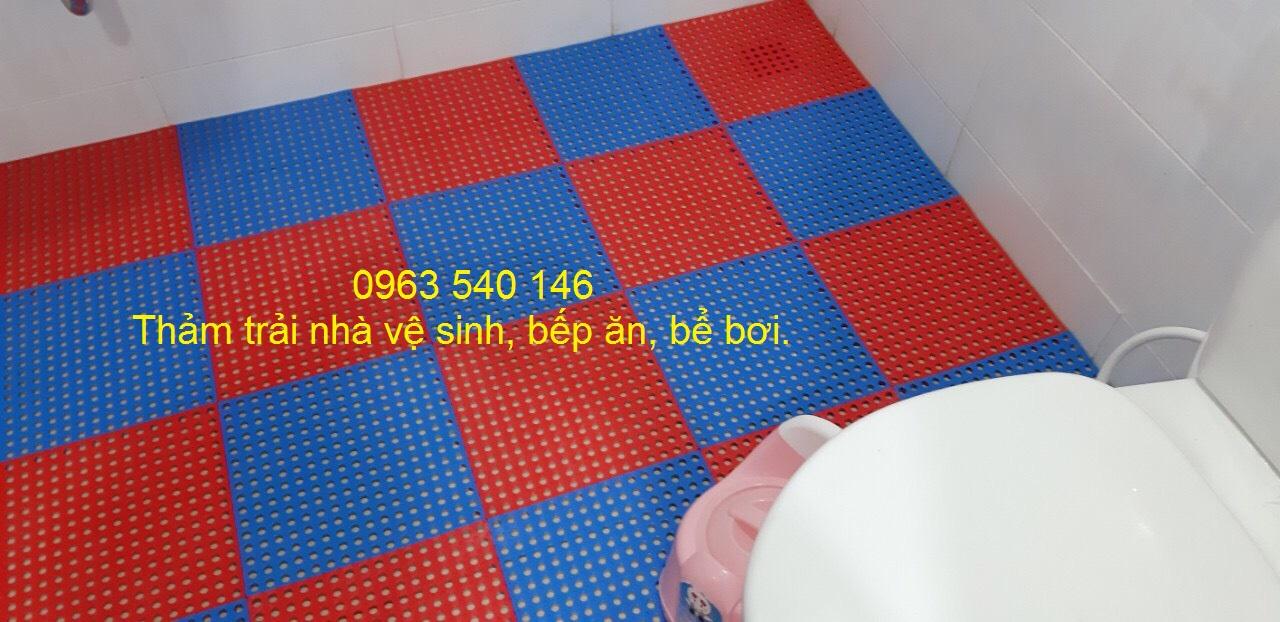 Tấm thảm mang lại sự sang trọng cho khu vực trong nhà tắm của quý khách.