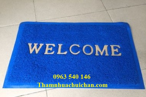 Thảm nhựa welcom bền đẹp, giá cả hợp lý, được bán tại thảm Hoàng Yến.