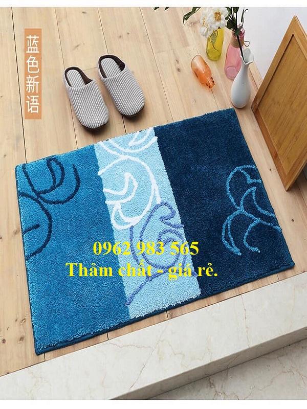 Tấm thảm chùi chân mang phong cách sang trọng cho gia đình bạn.