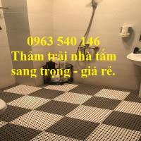 Phân phối thảm trải nhà vệ sinh chất lượng, giá rẻ nhất hiện nay