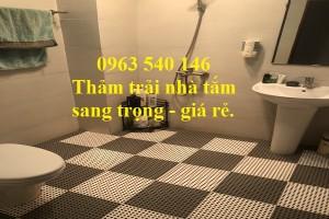 Thảm trải nhà vệ sinh dạng tấm