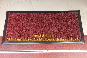 Thảm nhựa rối chùi chân tại Hà Nội.