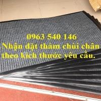 Thảm lau chân đế cao su sợi len giá siêu rẻ tại Hà Nội .
