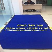 Thảm chùi chân nhựa cao su rối giá siêu rẻ tại Hà Nội.