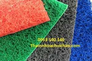 Thảm nhựa cao su rối bền đẹp, sang trọng, chùi chân rất sạch sẽ.