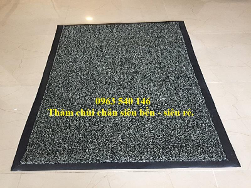 Thảm nhựa lau chùi chân tại sảnh lớn siêu bền - siêu rẻ tại Hà Nội.