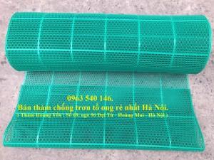 Thảm nhựa tổ ong chống trơn bể bơi