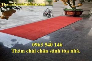 Cung cấp thảm chùi chân sảnh tòa nhà tại Hà Nội.
