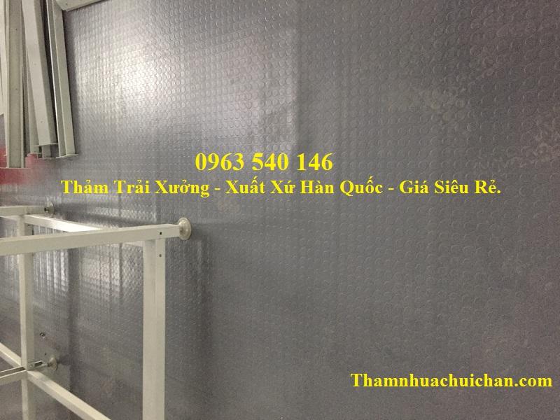 Thảm nhựa trải xưởng giá siêu rẻ tại Hà Nội.