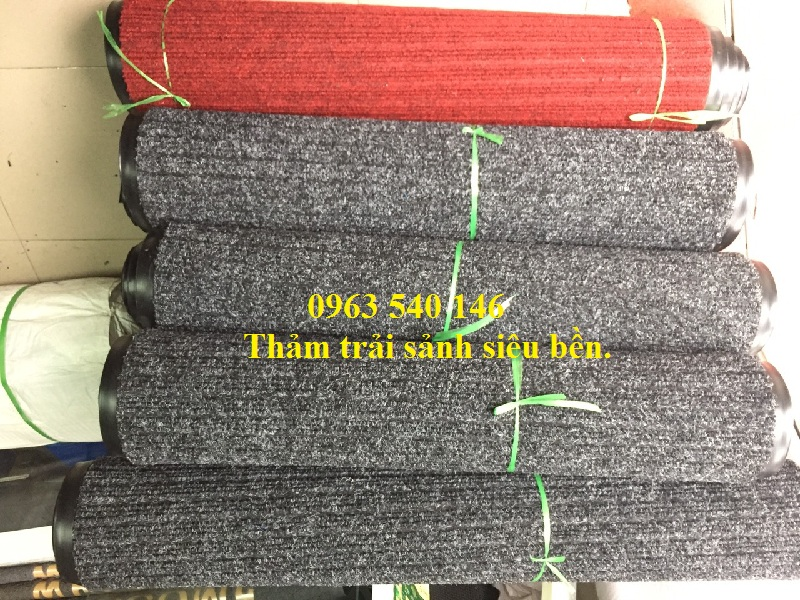 Thảm trải sảnh triline xuất xử Bỉ, kích thước 2m x 25m, có thể làm theo mọi kích thước yêu cầu.