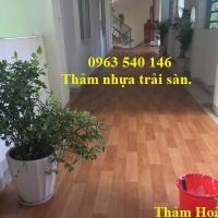 Thảm nhựa trải sàn giả gỗ, chất lượng, giá rẻ nhất thị trường.