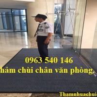 Thảm chùi chân sảnh văn phòng, thảm lau chân văn phòng, giá rẻ, chất lượng tai Hà Nội.
