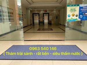 ( Sale 10% ) Thảm chùi chân sảnh tòa nhà văn phòng.